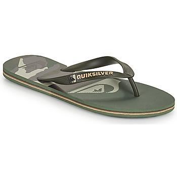 Cipők Férfi Lábujjközös papucsok Quiksilver MOLOKAI PANEL Keki