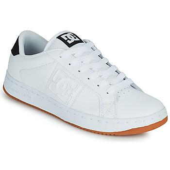 Cipők Férfi Deszkás cipők DC Shoes STRIKER Fehér / Fekete