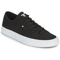 Cipők Férfi Deszkás cipők DC Shoes MANUAL Fekete  / Fehér