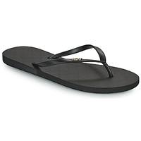 Cipők Női Lábujjközös papucsok Roxy VIVA IV Fekete