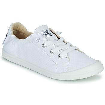 Cipők Női Rövid szárú edzőcipők Roxy BAYSHORE III Fehér