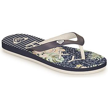 Cipők Lány Lábujjközös papucsok Roxy TAHITI VII G Tengerész