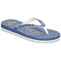 Cipők Lány Lábujjközös papucsok Roxy PEBBLES VII G Tengerész