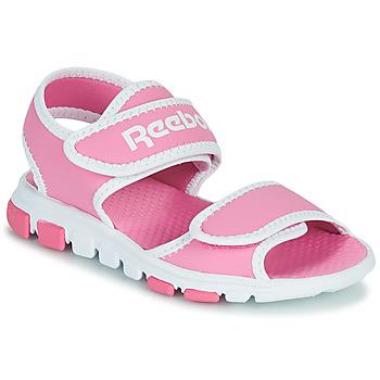 Cipők Gyerek Sportszandálok Reebok Sport WAVE GLIDER III Rózsaszín