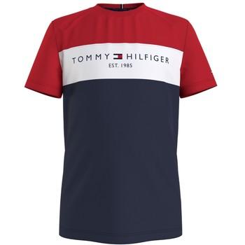 Ruhák Fiú Rövid ujjú pólók Tommy Hilfiger KB0KB06534-C87 Sokszínű