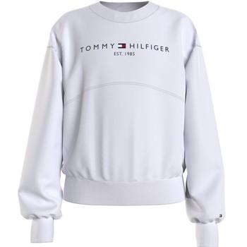 Ruhák Lány Pulóverek Tommy Hilfiger THUBOR Fehér