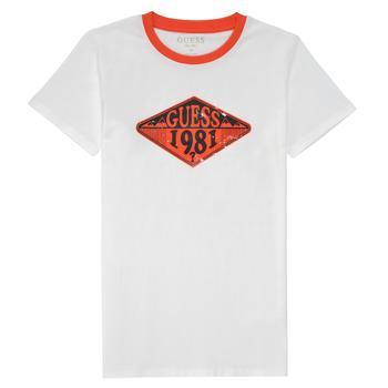 Ruhák Fiú Rövid ujjú pólók Guess L1GI09-K8HM0-TWHT Fehér