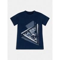 Ruhák Fiú Rövid ujjú pólók Guess L1RI15-K8GA0-F233 Kék