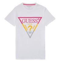 Ruhák Fiú Rövid ujjú pólók Guess H1RJ05-K8HM0-P66P Fehér