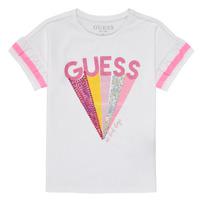 Ruhák Lány Rövid ujjú pólók Guess K1RI04-K6YW1-TWHT Fehér