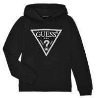 Ruhák Lány Pulóverek Guess J83Q14-K5WK0-A996 Fekete