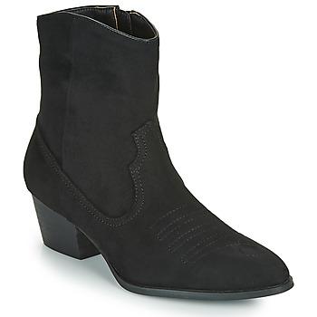 Cipők Női Bokacsizmák Vanessa Wu  Fekete