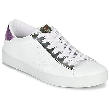 Cipők Női Rövid szárú edzőcipők Victoria Tribu Fehér