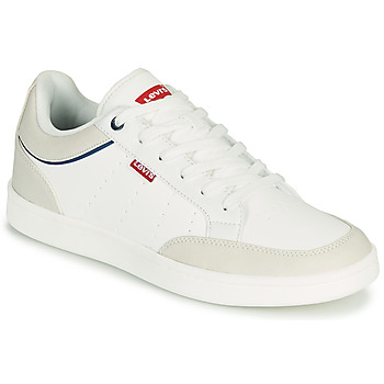 Cipők Férfi Rövid szárú edzőcipők Levi's BILLY 2.0 Fehér