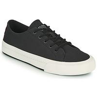 Cipők Férfi Rövid szárú edzőcipők Levi's SUMMIT LOW Fekete