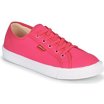 Cipők Női Rövid szárú edzőcipők Levi's MALIBU BEACH S Rózsaszín