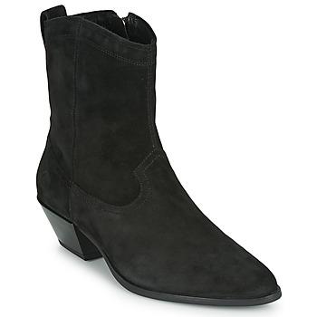 Cipők Női Bokacsizmák Vagabond Shoemakers EMILY Fekete