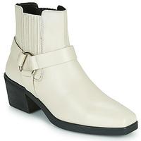 Cipők Női Bokacsizmák Vagabond Shoemakers SIMONE Fehér