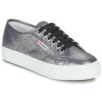 Cipők Női Rövid szárú edzőcipők Superga 2730 LAMEW Ezüst