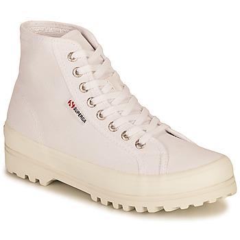 Cipők Női Magas szárú edzőcipők Superga 2341 ALPINA COTU Fehér