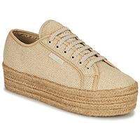Cipők Női Rövid szárú edzőcipők Superga 2790 JUTECOTROPEW Bézs