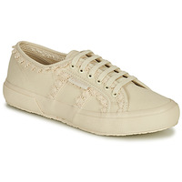 Cipők Női Rövid szárú edzőcipők Superga 2750 COTW LACEPIPING Bézs
