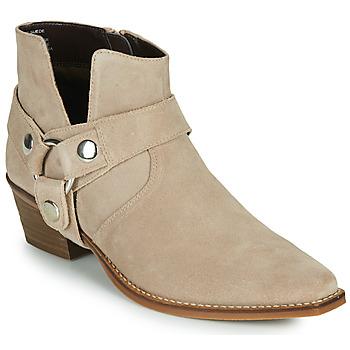 Cipők Női Városi csizmák Steve Madden GOLDA Bézs