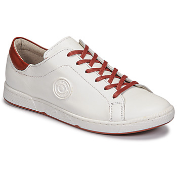 Cipők Női Rövid szárú edzőcipők Pataugas JAYO F2G Fehér / Terrakotta