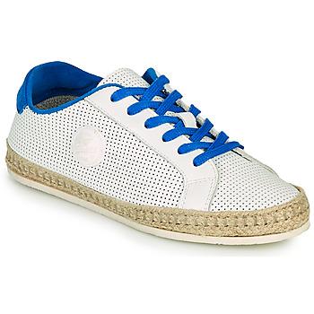 Cipők Női Gyékény talpú cipők Pataugas PALOMA F2F Fehér / Kék