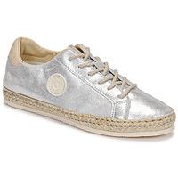 Cipők Női Gyékény talpú cipők Pataugas PAM/M F2E Ezüst