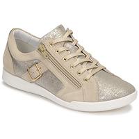 Cipők Női Rövid szárú edzőcipők Pataugas PAULINE/T F2G Bézs / Arany