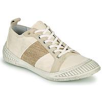 Cipők Női Rövid szárú edzőcipők Pataugas RICHIE F2G Ekrü