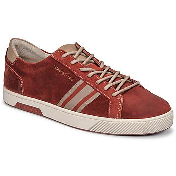 Cipők Férfi Rövid szárú edzőcipők Pataugas MARIUS/CR H2G Téglavörös