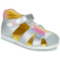 Cipők Lány Szandálok / Saruk Agatha Ruiz de la Prada HAPPY Ezüst