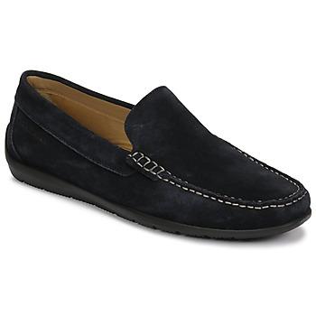 Cipők Férfi Mokkaszínek Lumberjack LEMAN Tengerész