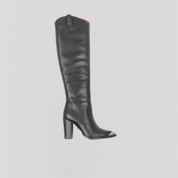 Cipők Női Városi csizmák Bronx Bottes femme  New-Americana noir