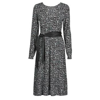 Ruhák Női Rövid ruhák Le Temps des Cerises CANDY Fekete