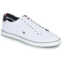 Cipők Férfi Rövid szárú edzőcipők Tommy Hilfiger H2285ARLOW 1D Fehér