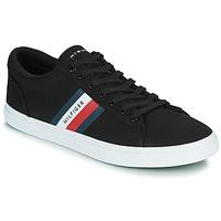 Cipők Férfi Rövid szárú edzőcipők Tommy Hilfiger ESSENTIAL STRIPES DETAIL SNEAKER Tengerész