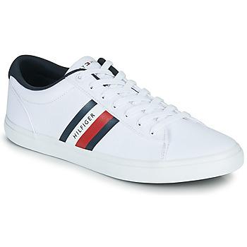 Cipők Férfi Rövid szárú edzőcipők Tommy Hilfiger ESSENTIAL STRIPES DETAIL SNEAKER Fehér