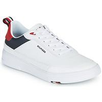 Cipők Férfi Rövid szárú edzőcipők Tommy Hilfiger MODERN CUPSOLE LEATHER Fehér