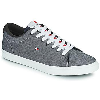 Cipők Férfi Rövid szárú edzőcipők Tommy Hilfiger ESSENTIAL CHAMBRAY VULCANIZED Szürke
