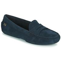 Cipők Női Mokkaszínek Tommy Hilfiger TOMMY ESSENTIAL MOCCASIN Tengerész