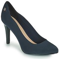Cipők Női Félcipők Tommy Hilfiger TOMMY ESSENTIAL HIGH HEEL PUMP Tengerész