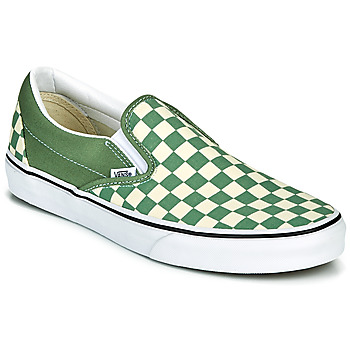 Cipők Férfi Belebújós cipők Vans CLASSIC SLIP ON Zöld