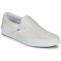 Cipők Női Belebújós cipők Vans CLASSIC SLIP ON Uv / Fényes / Bézs / Rózsaszín
