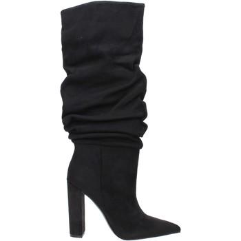 Cipők Női Bokacsizmák Steve Madden SMSSLOUCH-BLK Fekete