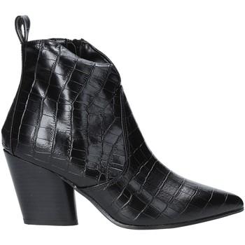 Cipők Női Bokacsizmák Grace Shoes 7241007 Fekete