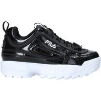 Cipők Gyerek Divat edzőcipők Fila 1011081 Fekete