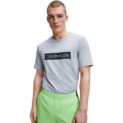 Ruhák Férfi Pólók / Galléros Pólók Calvin Klein Jeans 00GMT0K119 Szürke